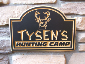 Hunters Man Cave Signs : Signs of mackinac:cabin campsite house man cave signs.